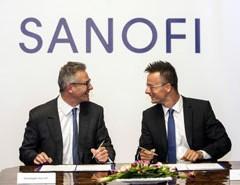 A Sanofi is a kormány stratégiai partnerei között