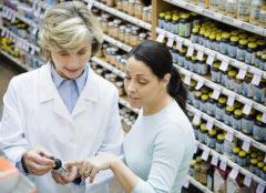 Pharmacist Assisting Customer